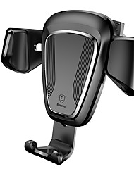 cheap -Car Mount Stand Holder Air Outlet Grille Gravity Type Aluminum Holder