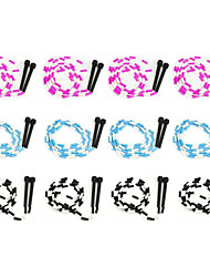 cheap -7-Foot Jump Ropes, 12-Pack - Pink, Blue, Black, White Skip Rope for Exercise - Sports & Outdoor Activities for Kids, Adults, and Athletes - Toys, Games, Family Fun
