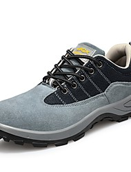 cheap -Safety Work Boots Steel Toe Cap Trainers For Mens Sporty Office & Career Suede Water Proof Non-slipping Booties Ankle Boots Summer Fall Spring