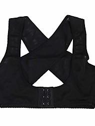 cheap -posture corrector for men women adjustable back braces support belts breathable upper clavicle back posture support straps(l)