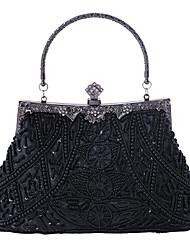 economico -caiyue borsa da sposa abito da sera ricamato con perline ricamate da donna borsa da sposa damigella d'onore borsa cheongsam borsa ricamata a mano b105