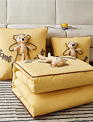 cheap -Pillow Quilt Multifunction Foldable Cartoons Throw Pillow Quilt Car Purpose Cushion Office Nap Pillow Folding Blanket Sofa Pillow Air Conditioning Quilt Convertible