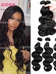 cheap -amazon new product european and american wig female chemical fiber hair curtain hair bundle body wave wig piece hair extension factory wholesale