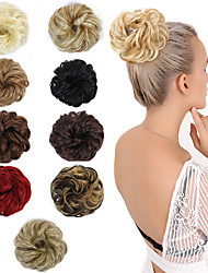 cheap -wig europe and america messy high temperature silk curling ring cross-border exclusively for stock rubber band chemical fiber hair pack