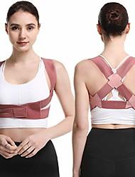 cheap -ausitool posture corrector for women and men adjustable upper back brace spine back support straightener