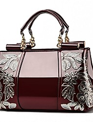 cheap -Women's Bags Top Handle Bag Daily Going out Handbags Wine White Black Red