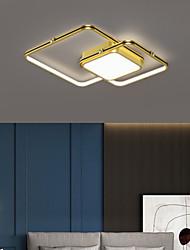 cheap -LED Ceiling Light 45/55 cm Geometric Shapes Flush Mount Lights Aluminum Artistic Style Stylish Painted Finishes Artistic Modern 220-240V