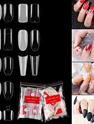 cheap -Nail French Pointed Nails Seamless Nails Ballet Nails Transparent Nails Toenails Fake Nails UV Gel Manicure False Nails Art