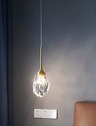 cheap -LED Pendant Light 10 cm Lantern Desgin Pendant Light Metal Electroplated Modern 220-240V