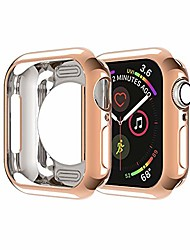 cheap -Smart watch case compatible for apple watch case 42mm series 3/2/1 soft ultra-slim lightweight scratch resistant protective bumper cases cover frame shell flexible tpu housing for iwatch 42mm