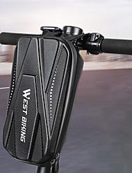 cheap -2 L Bike Frame Bag Top Tube Waterproof Portable Reflective Strips Bike Bag PU(Polyurethane) EVA Bicycle Bag Cycle Bag Outdoor Exercise Bike / Bicycle