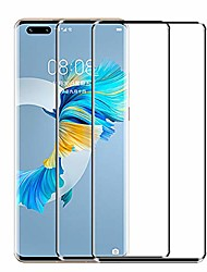 cheap -Phone Screen Protector For Huawei P40 P40 Pro P40 Pro+ Mate 40 Mate 40 RS Porsche Design Tempered Glass 2 pcs High Definition (HD) Scratch Proof Front Screen Protector Phone Accessory