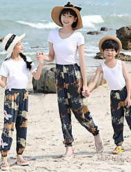 cheap -Summer Anti-mosquito Sunscreen Loose Pants for Mommy and Me
