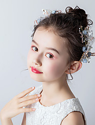 economico -accessori per neonate per bambini principessa testa di fiori accessori per capelli a forcina bambina carina accessori per capelli da bambina piccoli copricapo da sposa accessori per ragazze