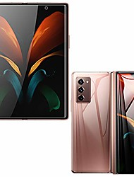 cheap -Phone Screen Protector For SAMSUNG Galaxy Z Fold 2 Tempered Glass 3 pcs High Definition (HD) Scratch Proof Front Screen Protector Phone Accessory
