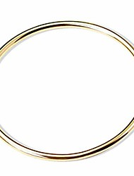 cheap -jude jewelers stainless steel classical simple plain polished round circle bangle bracelet