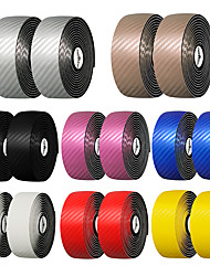 cheap -MOTSUV Bike Handlebar Tape Anti-Slip Cycling Nondeformable Durable Easy to Install For Road Bike Triathlon TT Recreational Cycling Fixed Gear Bike Cycling Bicycle PU(Polyurethane) White Black Yellow