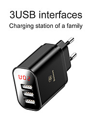 cheap -BASEUS 17 W Output Power USB PD Charger Fast Charger Phone Charger Portable Charger Portable Multi-Output Fast Charge For Universal