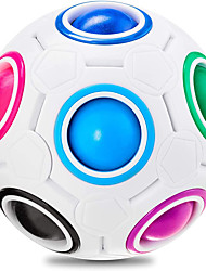 cheap -Magic Rainbow Puzzle Ball, Speed Cube Ball Puzzle Game Fun Stress Reliever Magic Ball Brain Teaser Fidget Toys for Children Teens & Adults (8/12/20 Holes)