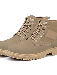 cheap -Safety Work Matin Boots Steel Toe Cap Trainers For Mens Sporty Office & Career Suede Water Proof Non-slipping Booties Ankle Boots Summer Fall Spring