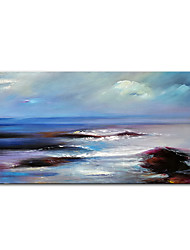 cheap -Oil Painting Handmade Hand Painted Wall Art Mintura Seaview Landscape Home Decoration Decor Rolled Canvas No Frame Unstretched