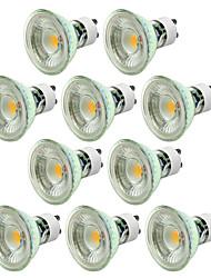 cheap -LED Bulb 10pcs Dimmable 5W GU10 GU5.3 AC220-240V LED Spotlights Warm White Cool White LED Lamp COB Spot Light