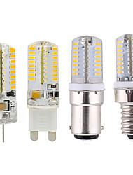 cheap -1pc 2.5 W LED Globe Bulbs 200-220 lm E14 G9 G4 64 LED Beads SMD 3014 220 V