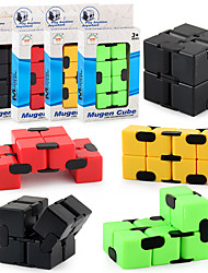 cheap -INFINITY CUBE Fidget Cube Toy Kids Sensory Puzzle Cube Toy Stress Relief for Adult and Children Magic Puzzle Flip Toy for ADD, ADHD, Finger Toys Cube Anxiety Relief and Killing Time