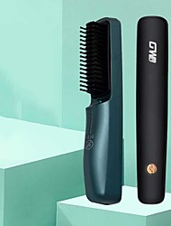 cheap -Hair Straightener Comb Wireless Negative Ion Comb Styling Comb Beard Comb Portable Travel USB Charging Hair Straightener