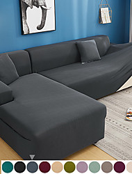 cheap -Sofa Cover Solid Colored Yarn Dyed Polyester Slipcovers