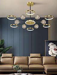 cheap -LED Pendant Light 120 cm Circle Design Flush Mount Lights Metal Artistic Style Modern Style Stylish Painted Finishes LED Modern 220-240V