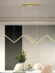 cheap -LED Pendant Light 5 cm Dimmable Line Design Pendant Light Aluminum Stylish Minimalist Painted Finishes LED Nordic Style 220-240V