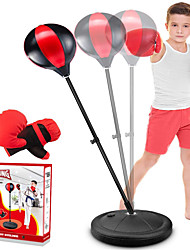 cheap -Punching Bag for Kids Incl Boxing Gloves  3-8 Years Old Adjustable Kids Punching Bag with Stand  Boxing Bag Set Toy for Boys Girls