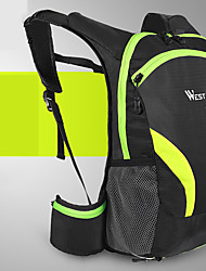 cheap -15 L Cycling Backpack Reflective Waterproof Portable Bike Bag Polyster Bicycle Bag Cycle Bag Outdoor Exercise Bike / Bicycle