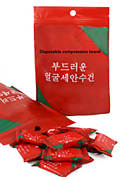 cheap -Disposable Travel Towel Compressed Face Towel Compact Tablet Mini Wet Wipes Damp Napkin Gusset Towel Tissue
