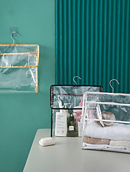 cheap -Waterproof Pvc Storage Bag Can Hold Mobile Phone Moisture-proof Dust-proof Wall-mounted Transparent Storage Bag