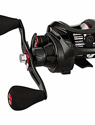 cheap -torrent baitcasting reel 5.3:1 right handed bass fishing reel low profile baitcaster