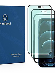 cheap -Phone Screen Protector For Apple iPhone 13 12 Pro Max 11 SE 2020 X XR XS Max 8 7 Tempered Glass 2 pcs High Definition (HD) Anti Blue Light Scratch Proof Front Screen Protector Phone Accessory