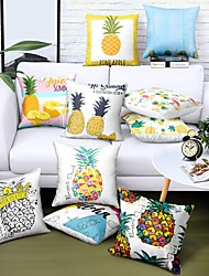 cheap -Ins Double Side Cushion Cover 1PC Soft Decorative Square  Pillowcase for Sofa Bedroom Car Chair Superior Quality Outdoor Cushion Patio Throw Pillow Covers for Garden Farmhouse Bench Couch