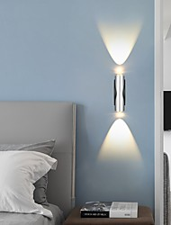cheap -LED Mini Wall Light 2pcs Modern Simple Up Down Indoor Led Wall light Wall Lamp Wall Sconce Bedroom Modern Double-headed LED Light Bedroom Living Room Porch Corridor Aisle