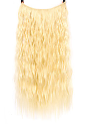 cheap -european and american foreign trade wig manufacturers spot wholesale chemical fiber fishing line hair curtain wig piece water ripple hair repair mark hair extension piece