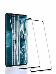 cheap -rssytz [2 pieces of bulletproof glass compatible with oppo find x2 pro protective film, [9h hardness] [anti-scratch] [anti-fingerprint] [hd clear], oppo find x2 pro bulletproof glass film