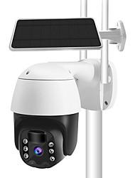 cheap -Tuya IP Camera PTZ 1080P HD Starlight Night Vision Outdoor Solar Battery Powered Wireless WIFI Camera Security Surveillance