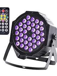 cheap -LED Stage Light 36W UV Blacklight 36 LEDs Par Stage Lighting with Remote Controller for Disco Party Club KTV Wedding