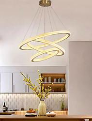 cheap -LED Pendant Light Ring Design Circle Design 80cm Lantern Desgin Stainless Steel Electroplated 110-120V 220-240V