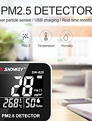 cheap -SS-302A Temperature And Humidity Sensor Indoor Hygrometer Thermometer With LCD Display