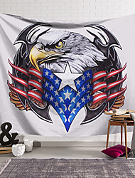 cheap -Wall Tapestry Art Decor Blanket Curtain Hanging Home Bedroom Living Room Decoration Polyester American Eagle