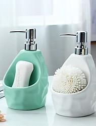 cheap -Ceramic Liquid Lotion Dispenser Pump Bottle 350ml 650ml Soap Container Bathroom Kitchen Cleaning Ware