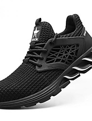 cheap -Men's Comfort Shoes Fall & Winter Daily Trainers / Athletic Shoes Running Shoes Mesh Black / Red