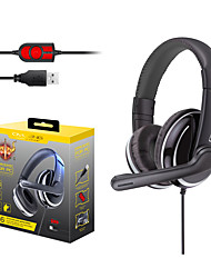 cheap -OVLENG Q6 Gaming Headset USB 3.5mm Audio Jack PS4 PS5 XBOX Ergonomic Design Retractable Stereo for Apple Samsung Huawei Xiaomi MI  PC Computer Gaming